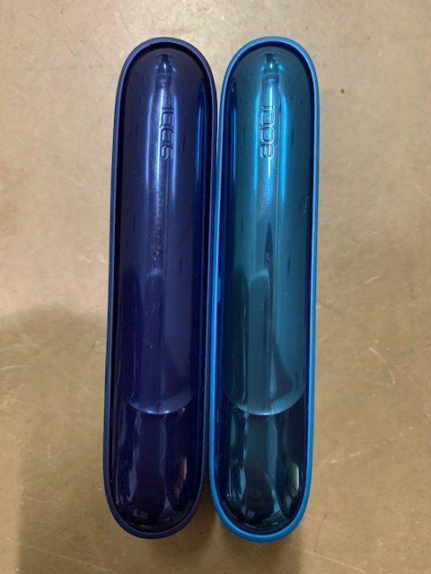 アイコス涼モデルとステラーブルーサイドパネル比較