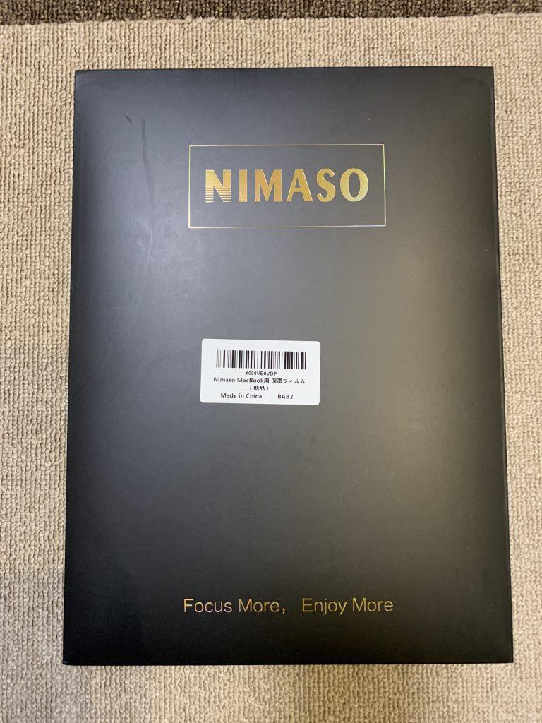 NIMASO アンチグレア フィルム MacBook Air/Pro 13インチ外箱