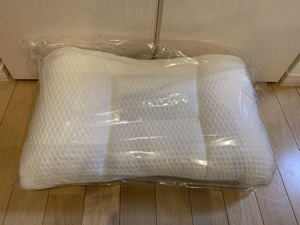 ニトリ 高さ 10カ所調整 枕 粒わた 実物