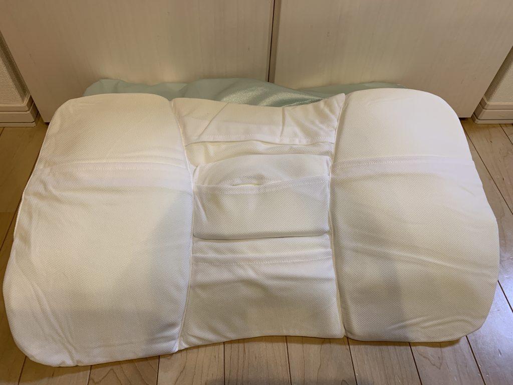 ニトリ 高さ 10カ所調整 枕 粒わた 部分調整ウレタンシート本体