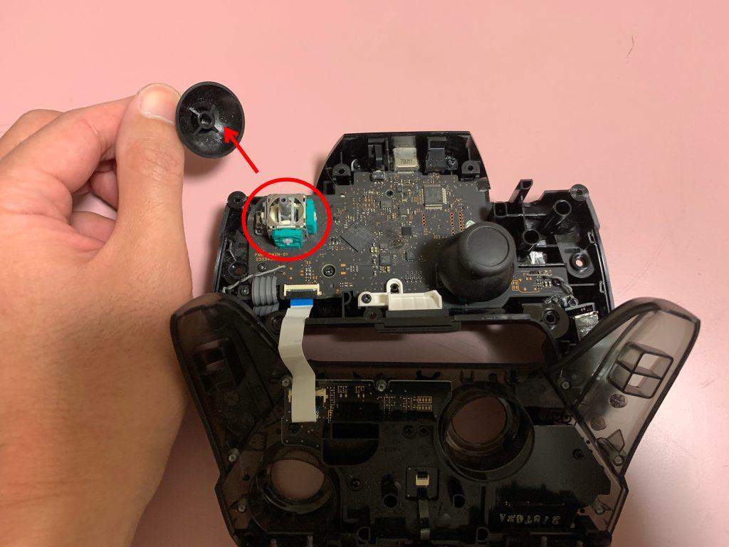 Nintendo Switch プロコン スティック分解9