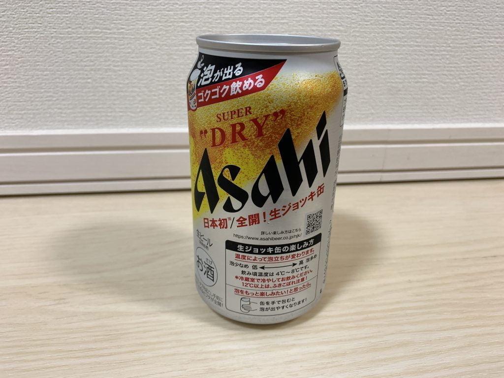 アサヒ スーパードライ 生ジョッキ缶本体