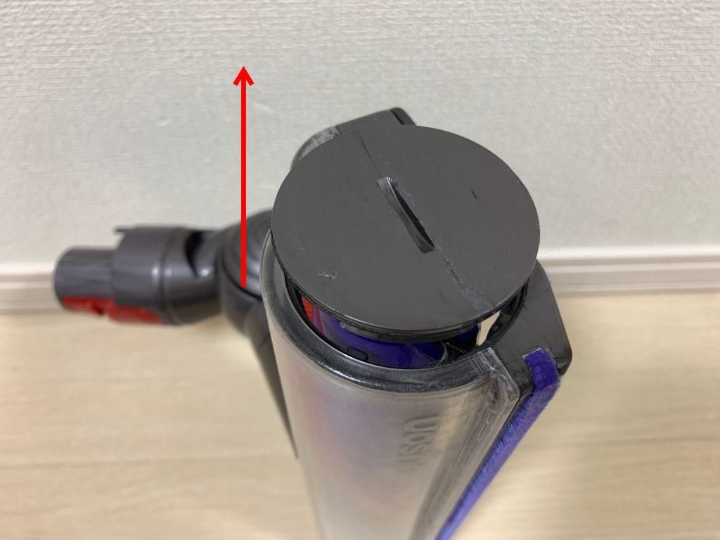 ダイソン ダイレクトドライブヘッドクリーナー 分解2