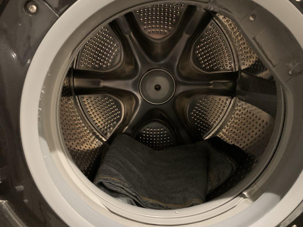 リーバイス 501xx 1947 リジッド 糊落とし 乾燥機にかける